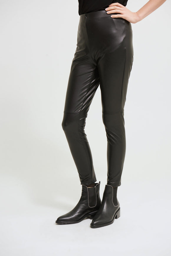 Joseph Ribkoff Faux Leather Leggings - 213422