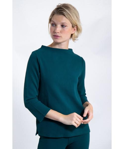Garcia 3/4 Sleeve Sweater - Botanical - J90264