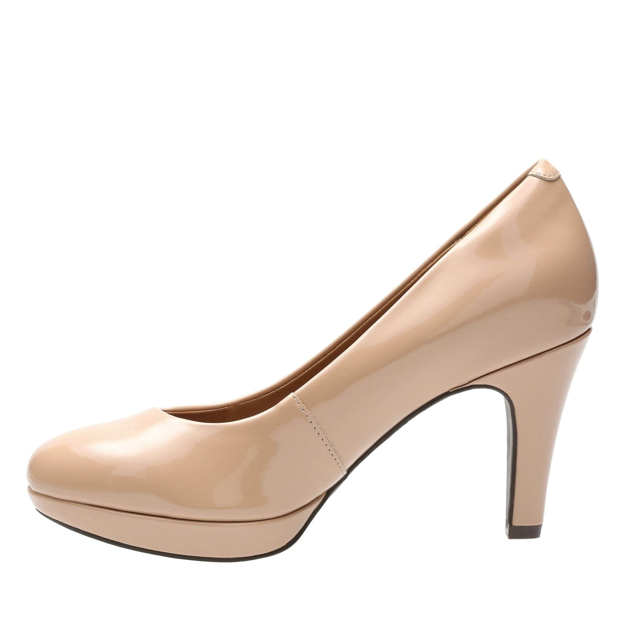 Clarks Brier Dolly Nude Patent Pump