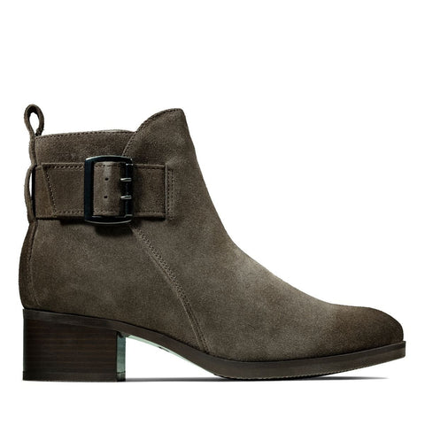 Clarks Mila Charm Taupe Suede 26143466