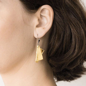 Anne-Marie Chagnon Earrings Manon Gold 383447 Jewellery