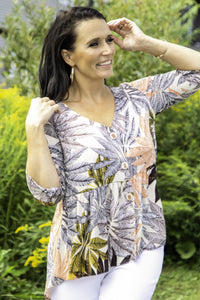 Pure Essence Shirt in Safari Mix - 384-4729