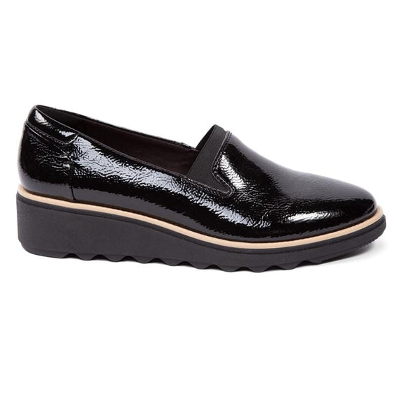 Clarks Sharon Dolly Black Synthetic 261466944045 Shoe