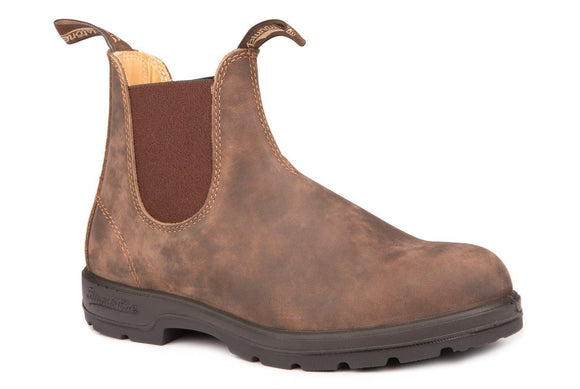 Blundstone Rustic Brown Boots - Style B585 Boot