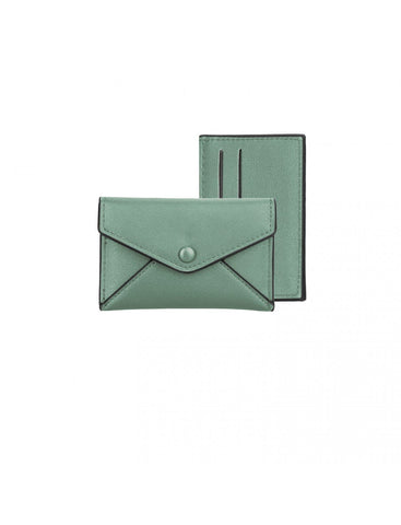 Caracol Small Case And Card Holder Mint 7050