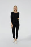 Sympli Spark Boxy Top in Black - 22205-2