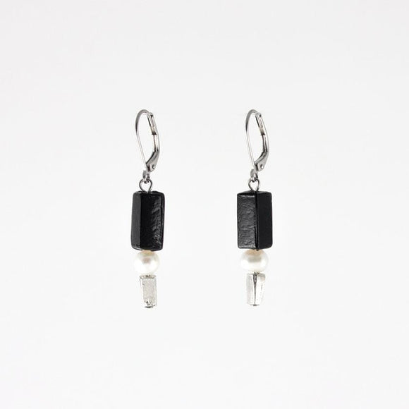Anne-Marie Chagnon Brittany Earrings - Black Earrings