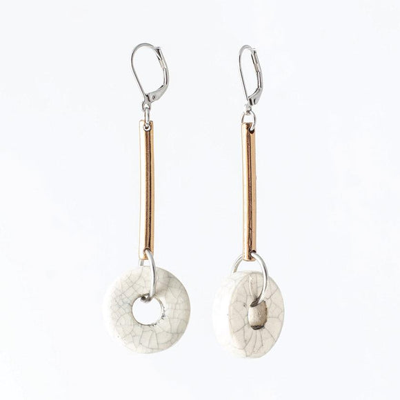 Anne-Marie Chagnon - Merlin Earring in Eggshell