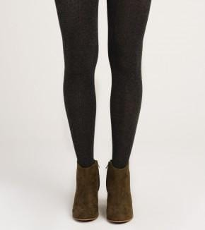 Hatley Cable Knit Tights Charcoal F19CML1335