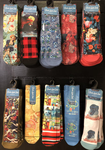 Good Luck Socks Size 5-9 Assorted