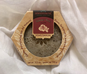 Anointment Summer Rose Soap SR3