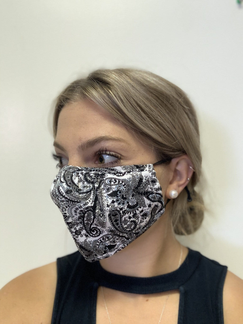 Papillion Paisley Cotton Mask
