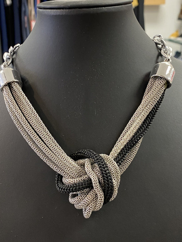 Knotted Chain Pendant