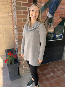 Pure Essence Grey Tunic - 342-4531 Tunic