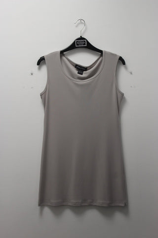 Michael Tyler Long Cami Ice Grey