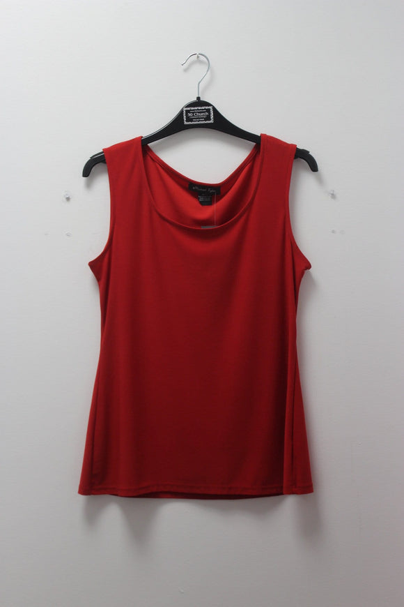Michael Tyler Tank Red Top