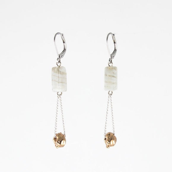 Anne-Marie Chagnon Brenda Earrings - Mist Earrings