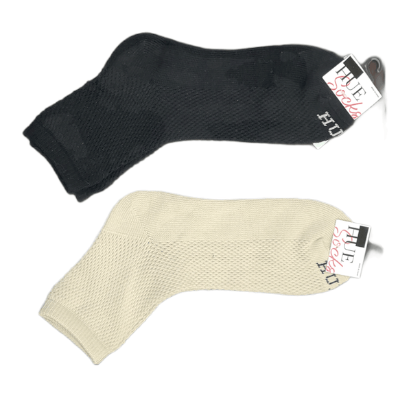 Hue Breezy Mesh Cotton Crew Sock - 22333