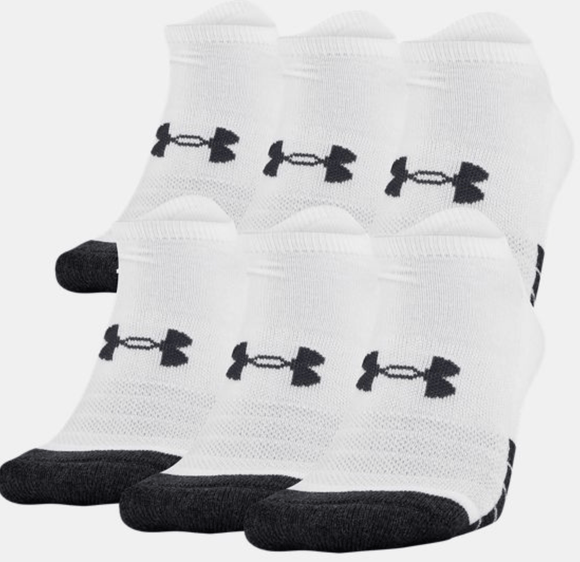 UA Performance Tech Socks Women Size 7-10.5 Socks