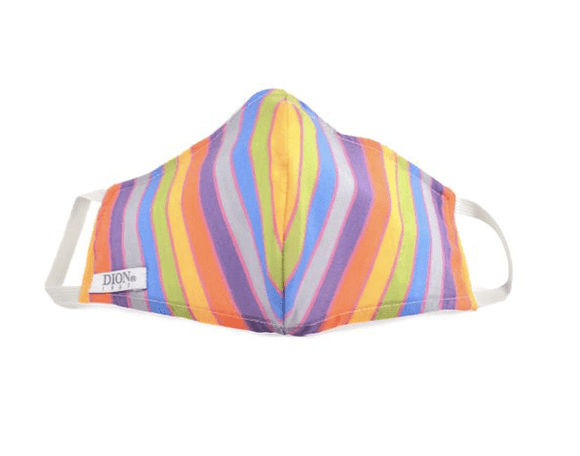 Dion Face Mask With Filter Rainbow Mask