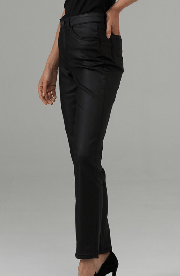 Joseph Ribkoff Faux Leather Pant - 203073 Pants