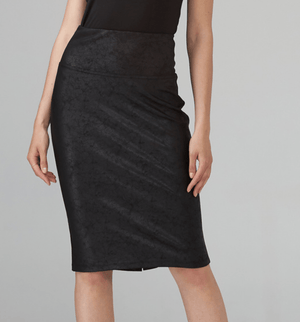 Joseph Ribkoff Faux Suede Skirt - 203375