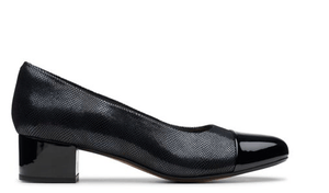 Clarks Chartli Diva Black Interest 26146443 Shoe