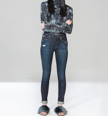 Yoga Jeans High Rise Skinny Dallas SWP-1443
