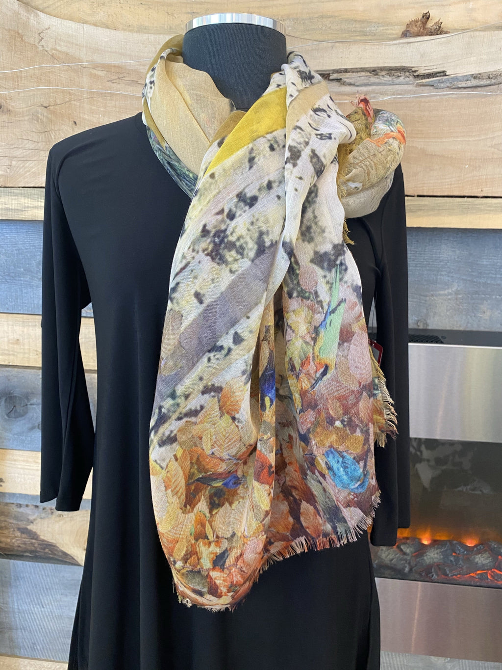 Fraas TH!NK Eco Scarf - Orange - 602012 260