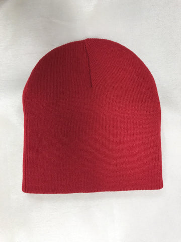 Arseno Acrylic Knit Red Toque SP08-ROUGE