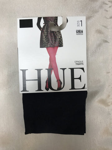 Hue Navy Opaque Tight