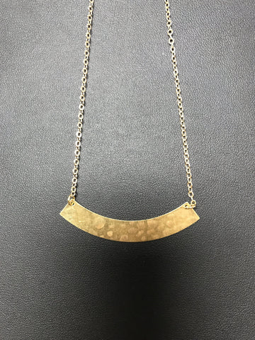 Frug Hammered Necklace