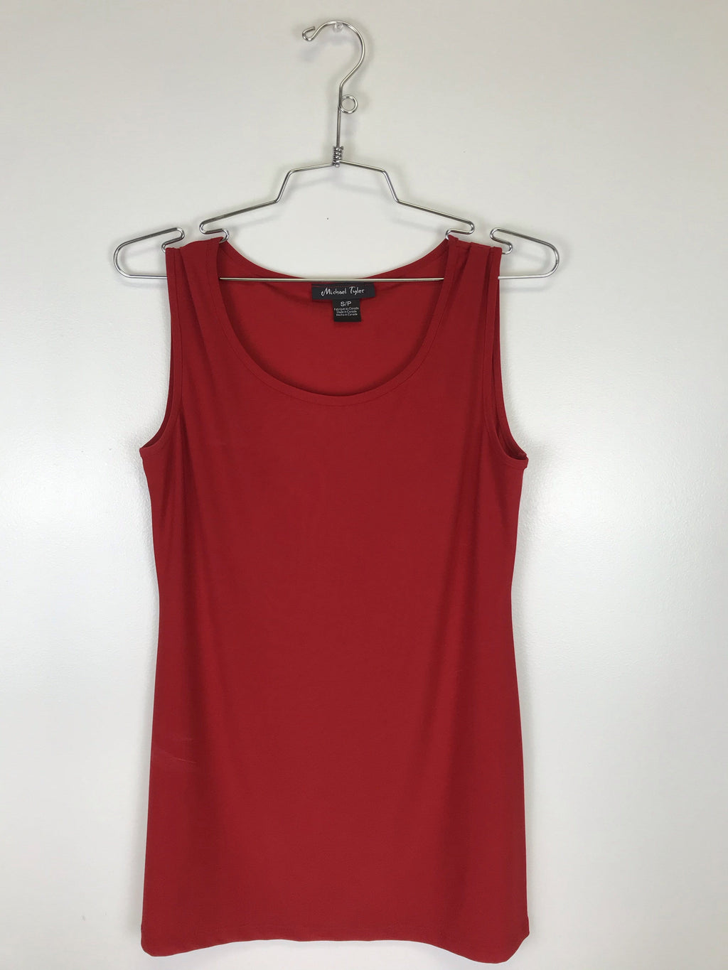 Michael Tyler Long Cami Red 19F1049