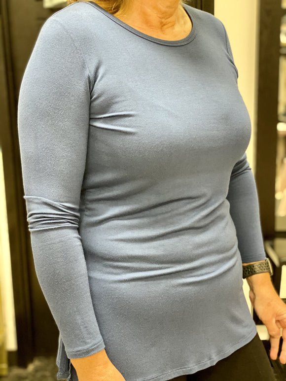 Alison Sheri Pullover Top Blue A34501 Top
