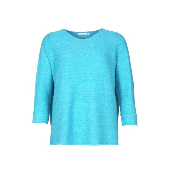 Mansted MORIKO Turquoise Coloured Sweater