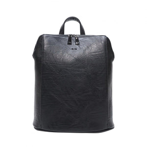 S-Q Melody-Convertible Backpack-Black SQ20005 Bag