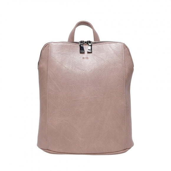 S-Q Melody-Convertible Backpack-Petal Pink SQ20005 Bag