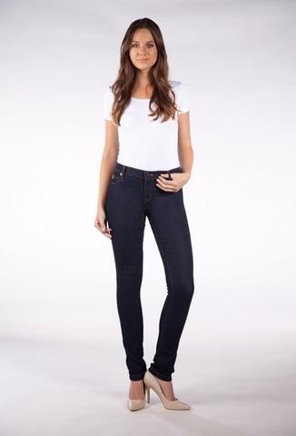 Yoga Jeans High Rise Skinny Two Tone SWP-1144