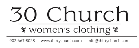30 Church Women's Clothing