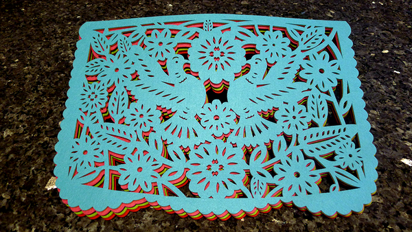 Papel Picado Felt Placemats & Coasters