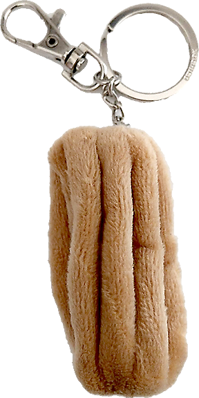 Churro key chain