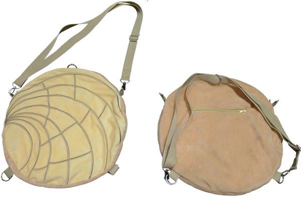Concha Backpack / Shoulder Bag, Vanilla