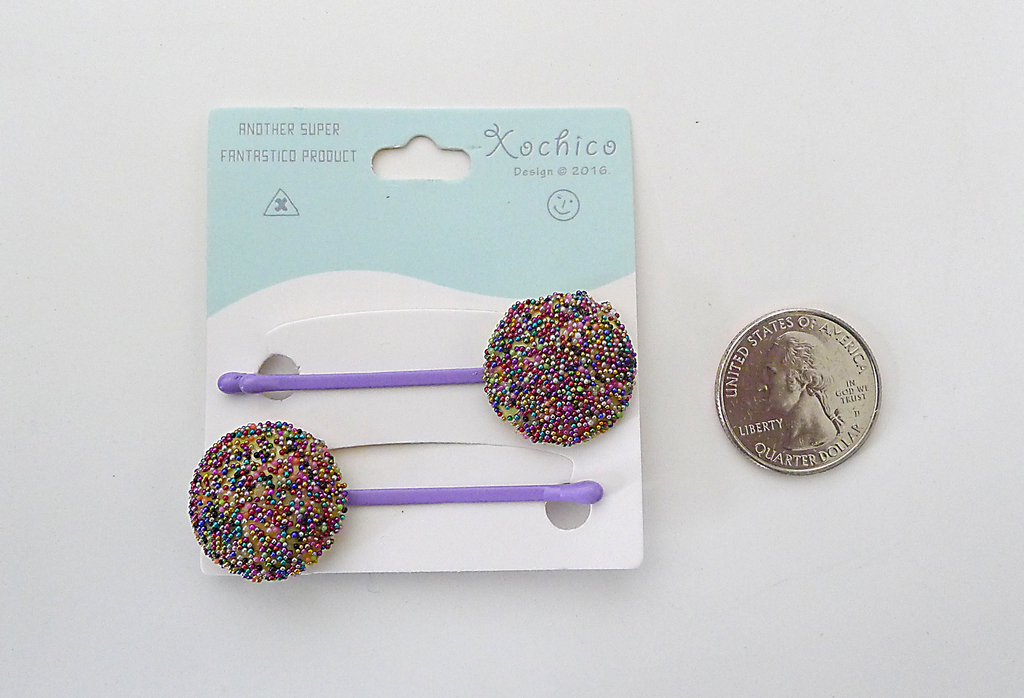 Pan Dulce Bobby Pins, Gragea Sprinkle Cookie