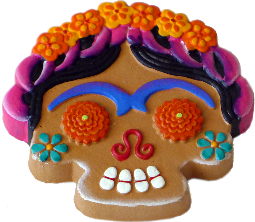 Frida Cookie magnet