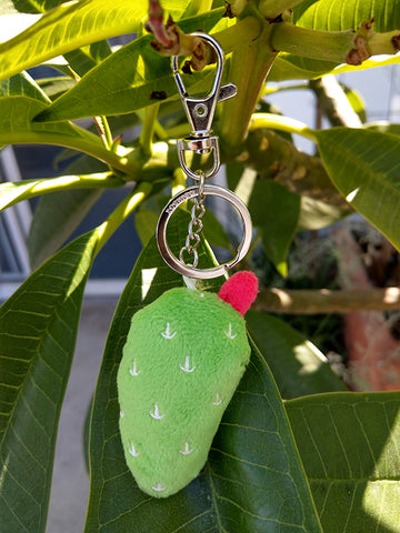 Nopal Plush Key Chain