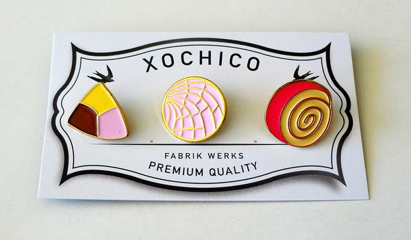 Pan Dulce 3-Pin Pack