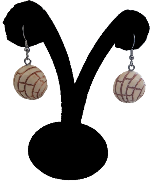 Pan Dulce Hook Earrings