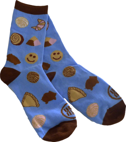 Multi pan dulce women's knit socks