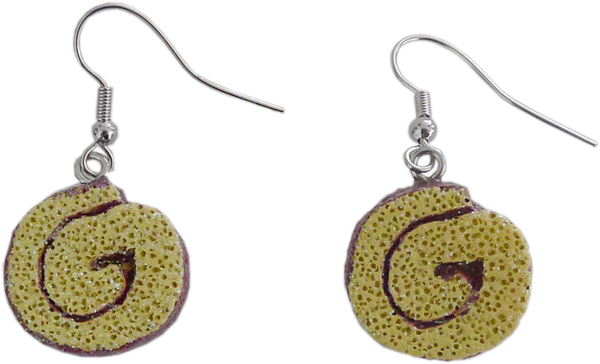 Niño Envuelto Earrings, close-up