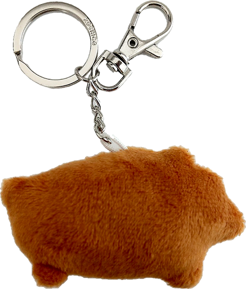 Pig Puerquito Marranito key chain